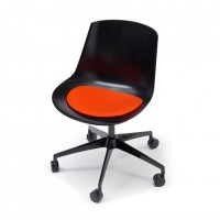 Filz-Sitzauflage MDF Italia Flow Chair Antirutsch
