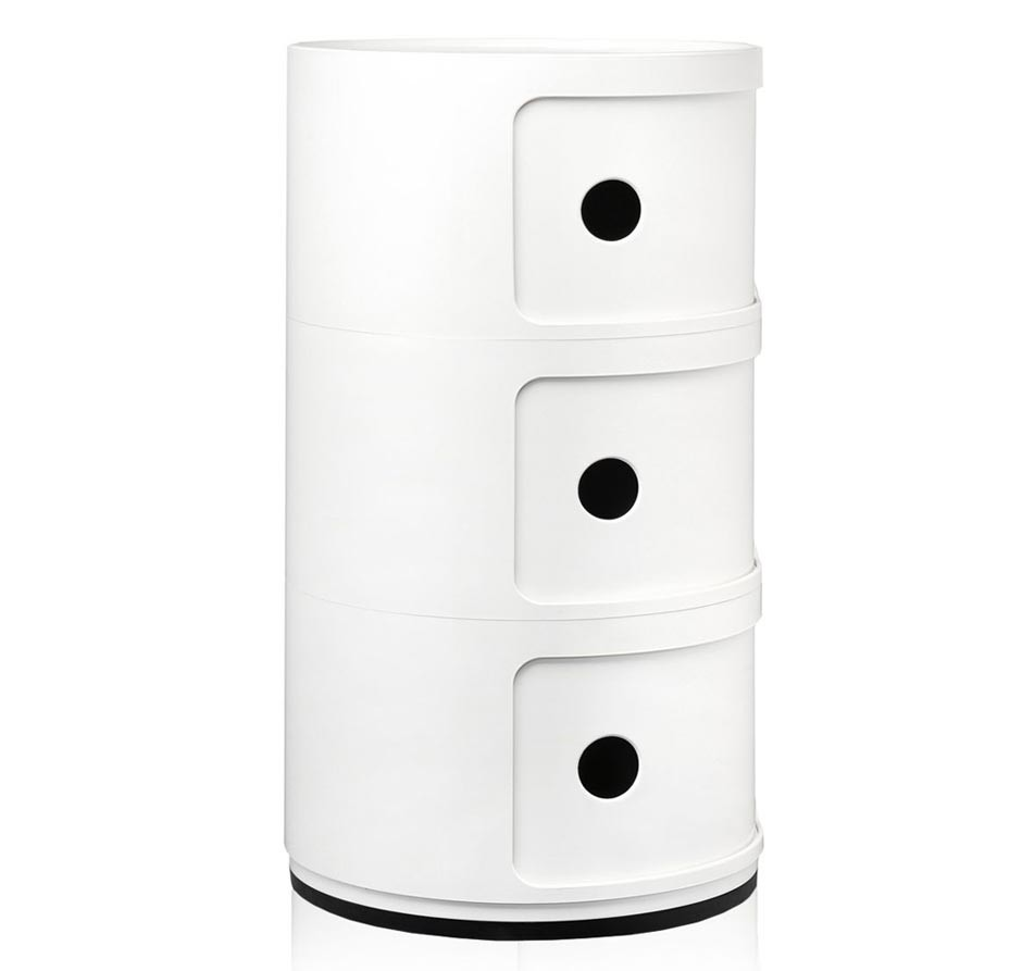 Kartell componibili 3er container traumambiente online shop for Outlet kartell online