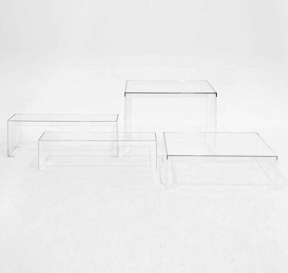 Kartell Invisible Table Couchtisch  Traumambiente
