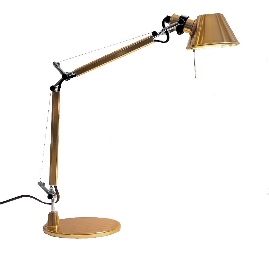 Artemide Tolomeo Micro Gold Limited Edition Ansicht 1