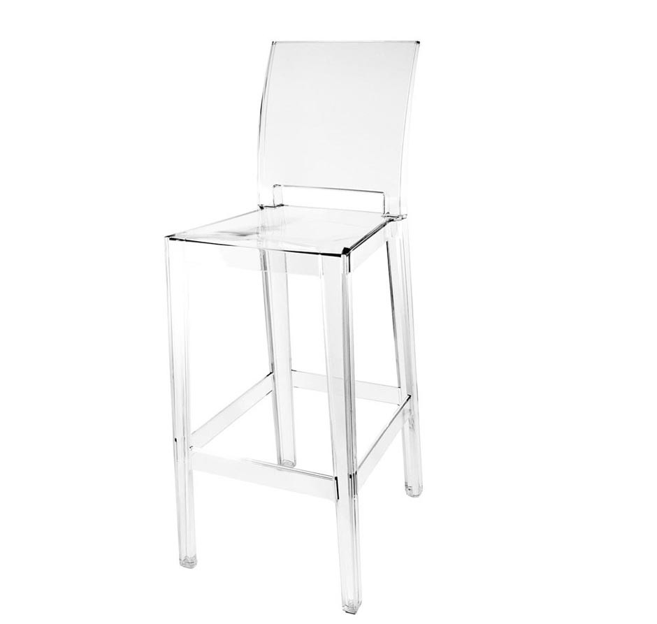 Kartell one more please barhocker 65 cm traumambiente for Barhocker 65