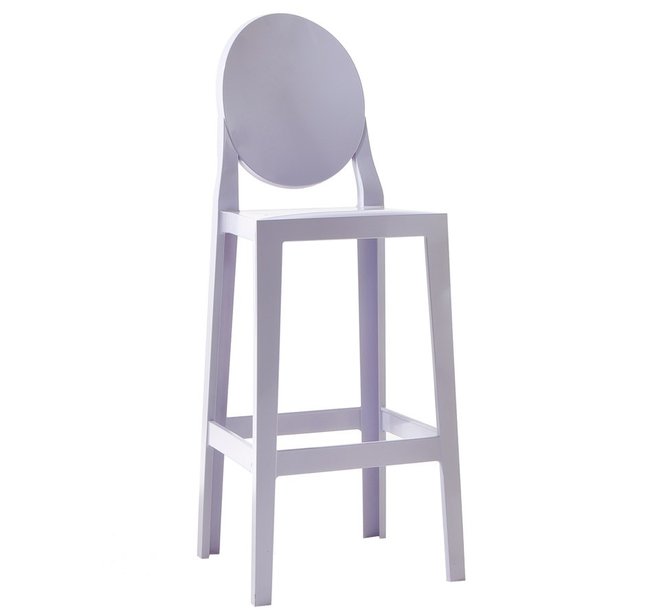 Kartell one more barhocker 65 cm traumambiente for Barhocker 65