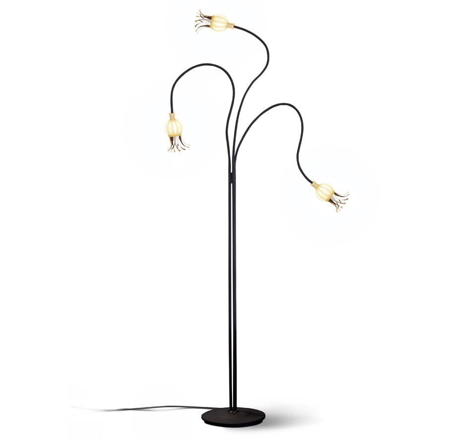 Serien Lighting Poppy Floor 3-armig Ansicht 1