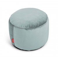 Point Velvet Hocker