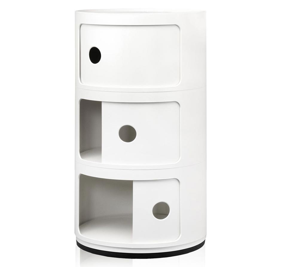 Kartell Componibili 3er Container Ansicht 1